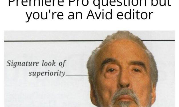 Avid Editors